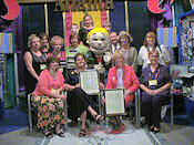 Knight Elementary Team won national character education and citizenship contest and cut bullying behaviors in half. Positive label program is the official character ed program of the national museum of patriotism.